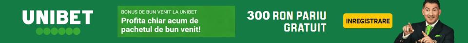 Unibet bonus 300 RON